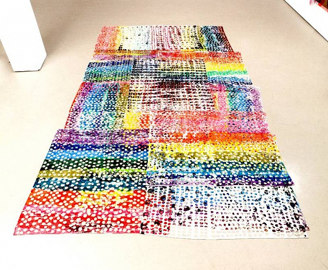 Polly Apfelbaum, L'A- ZP 1994-2011, Fabric