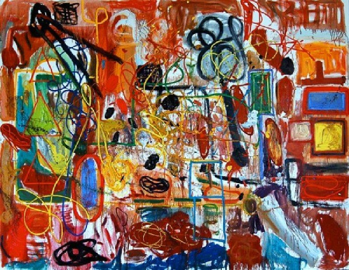André Butzer, Untitled 2007, Oil on canvas