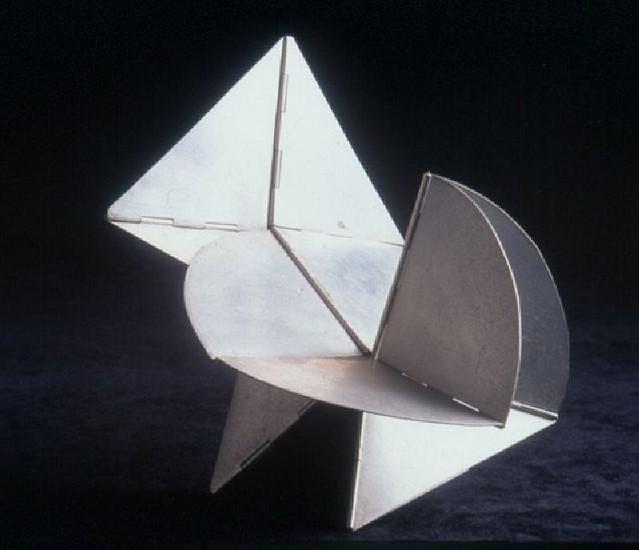 Lygia Clark, Bicho Pq. - Versao I circa 1960 - 1961, Aluminium
