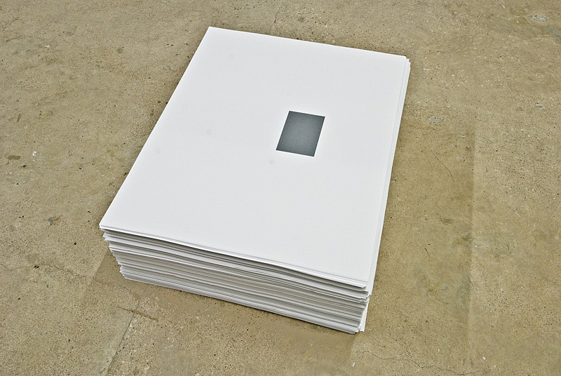 Felix Gonzalez-Torres, Untitled (Ross in LA) 1991, Offset print on paper