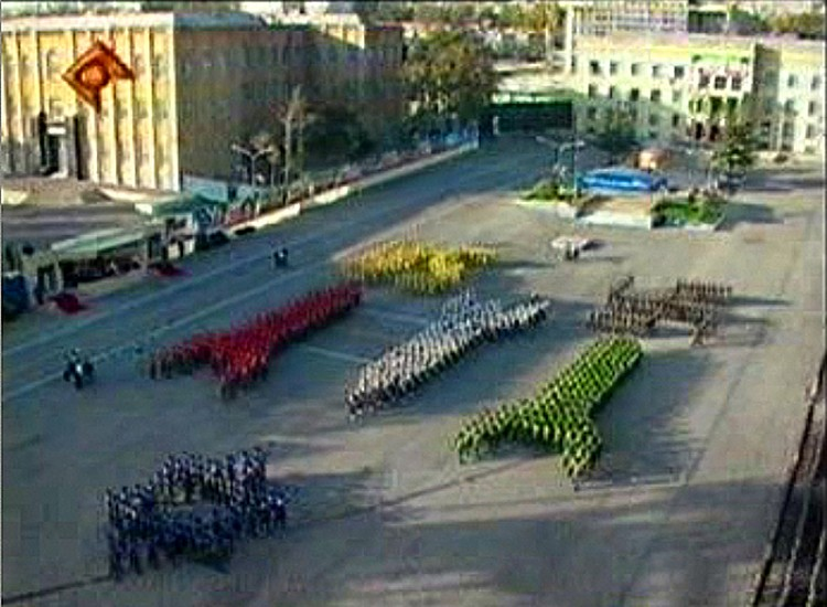 Christoph Büchel, Parade 2005, video