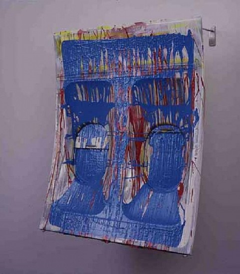 Isa Genzken, Flugzeugfenster I 2003, Mixed Media